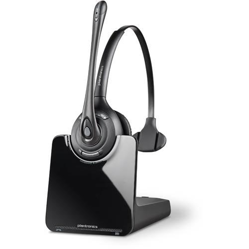 Plantronics Cs510 Over The Head Monaural Uc Headset Unified Communications