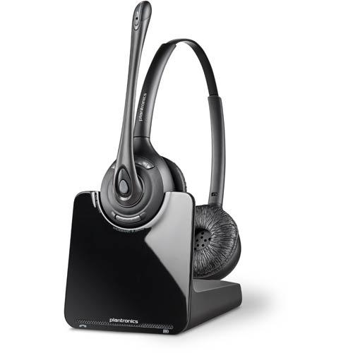 Plantronics Cs520 Over The Head Binaural Uc Headset Unified Communications