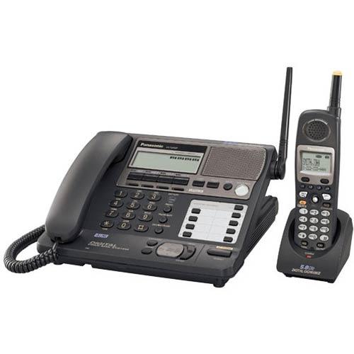 Panasonic Kx Tg4500b 4 Line 5 8 Ghz Corded Cordless Office Telephone System