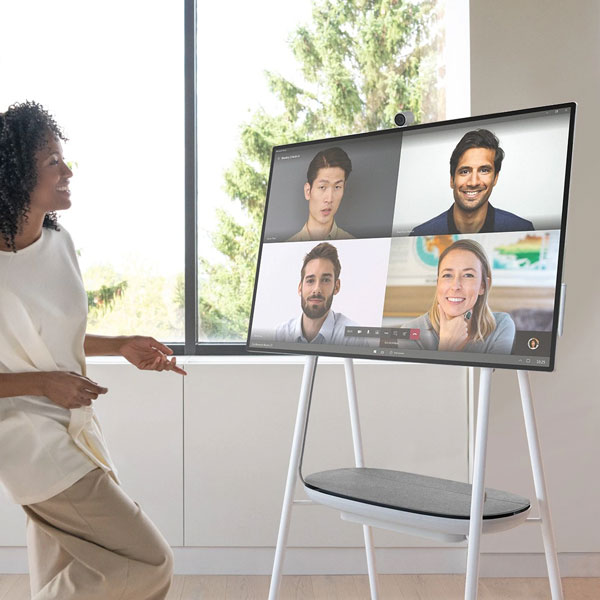 Microsoft Surface Hub 2S Brings Remote Teams Together