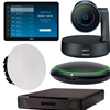 Logitech + Shure Large Tabletop Mic Bundle for Zoom Rooms