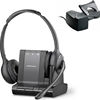 SAVI W720-M HL10 BUNDLE - Savi W720-M HL10 Bundle Wireless UC Headset for MOC & Lync - Plantronics - Lync Optimized Bluetooth and DECT Binaural Wireless Headset with HL10 Handset Lifter - W720M, 720M