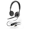 BLACKWIRE C520 - Blackwire C520 Binaural USB UC Headset - Plantronics - Binaural Wired USB Headset