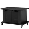 "C2736 - Audio Visual Furniture International - 30"" in height, Ideal for education and corporate training. Open shelf and rear access door, TV brackets not included"