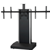 "TP1000-XL - Audio Visual Furniture International - Mobile Telepresence Stand for 50""- 90""displays (160 lbs max) Camera mounts above or below TV. TV bracket included."