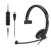 Sennheiser Culture Plus USB/3.5mm Mono Headset, MS