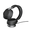 Jabra Evolve2 85 Wireless Headset Link 380 USB-A MS Stereo with Stand - Black
