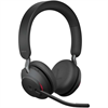 Jabra Evolve 2 65 Wireless Headset Link 380a MS Stereo Headset - Black