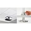 Chief Suspended Ceiling Projector System - White