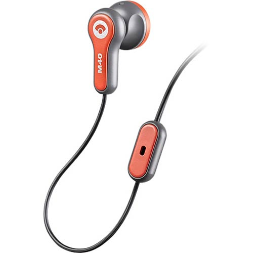 M43 X1 - Plantronics - Earbud (In-the-Ear) Style, In-Line Microphone Call Answer/End Button. Compatible w/Verizon Phones*