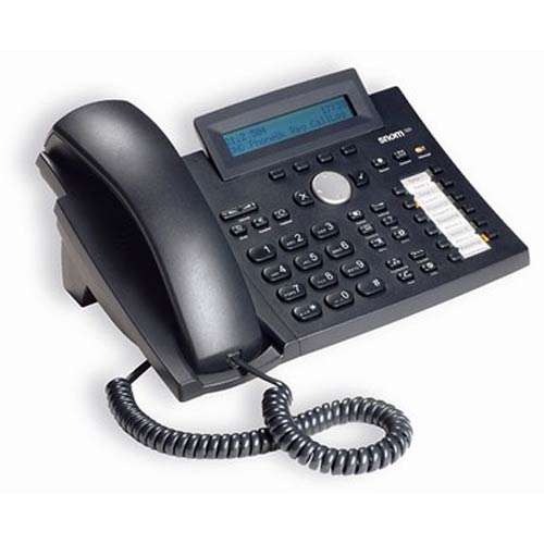 SNM00001031 - Snom - 320 VoIP Phone - Black