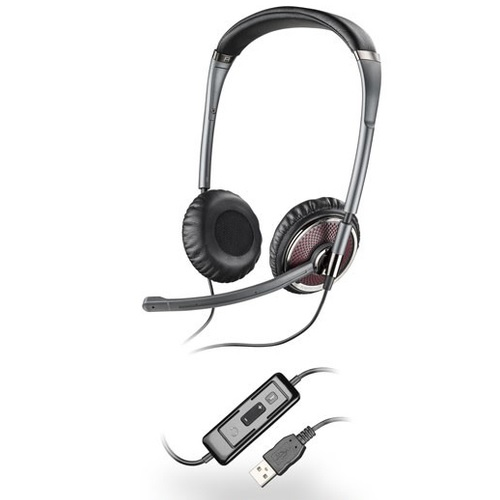 Plantronics Blackwire C420 Over-The-Head Binaural Noise Canceling USB UC Headset