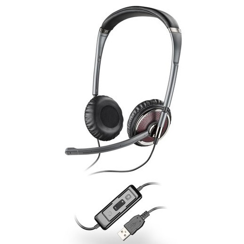 Plantronics Blackwire C420-M Over-The-Head Binaural Noise Canceling USB UC Headset for MOC 2007