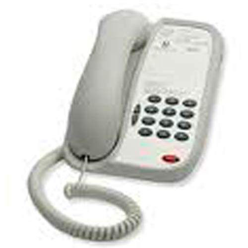 A103 A - Teledex - iPhone Analog Hotel Phone  Ash - IPN33739, 0IGA130, iphone