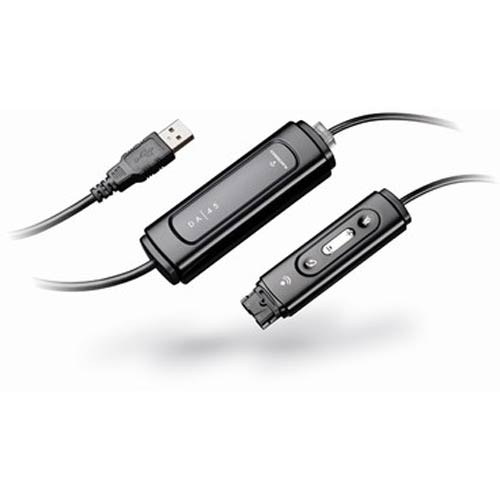 Plantronics DA45 USB-to-Headset Amplifier and Audio Processor for H-Series Headsets