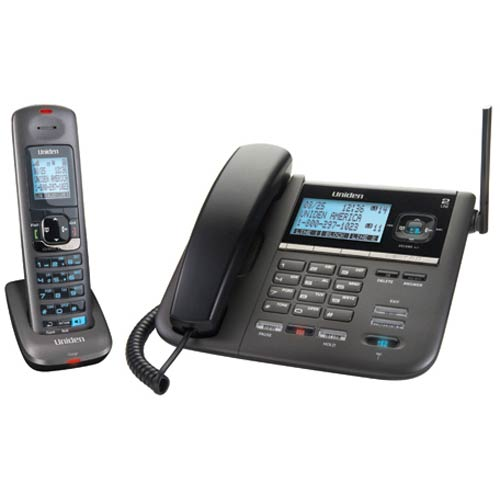 DECT 4096 - Uniden - 2Line Corded/Cordless Digital Answering System