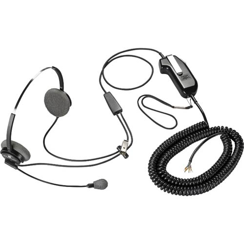 Plantronics SDS1031-01 Supra Headset with Amplifier and Cable