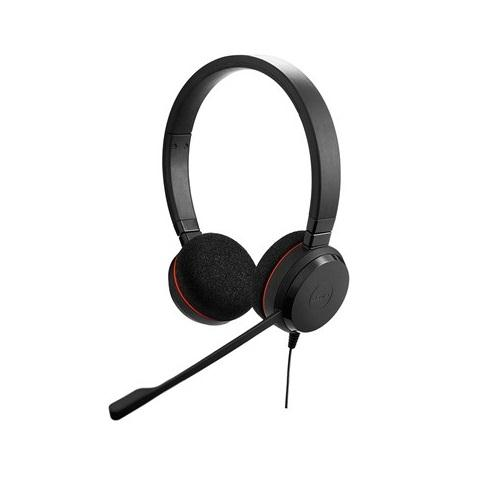 Jabra Evolve 20 Stereo Headset - UnifiedCommunications.com - Corded optimized stereo headset for VOIP softphone