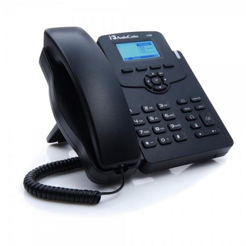AudioCodes 405HD IP Phone GbE w/Pwr - SfB
