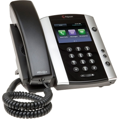 Polycom VVX 501 12-Ln Bus. Media Phone - SfB