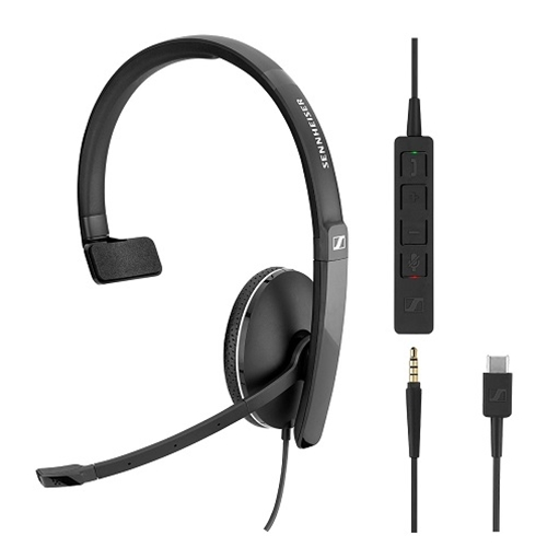 Sennheiser SC 135 USB Wired Headset