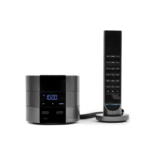 Bittel Moda (Charger, Alarm Clock) with Corded IP Handset