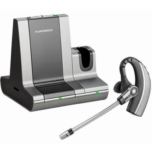 Plantronics WO200 Savi Office Over-the-Ear Noise Canceling Wireless UC Headset System