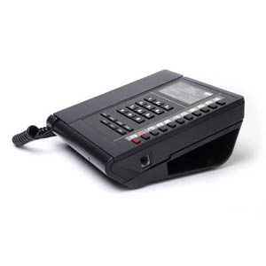 UNOA-10L - Bittel - Single Line Hospitality Phone w/ 10 Guest Service Buttons  Low Profile - UNOA-10GPL, UNOA-10BPL, UNO VOICE, LP