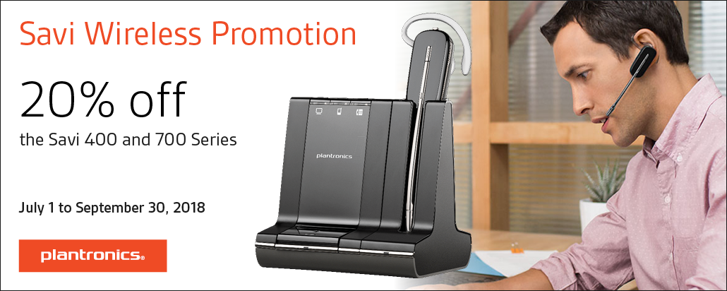 Savi Wireless Promotion