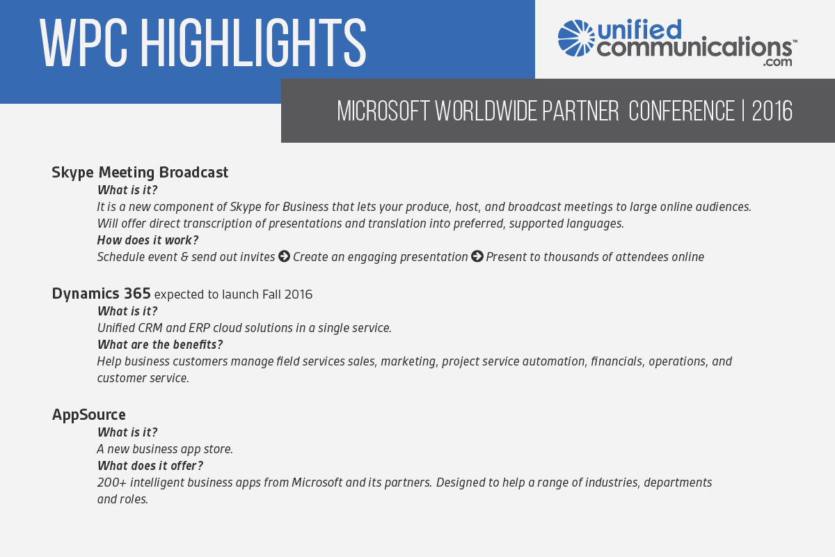 WPC Highlights | Microsoft World Partner Conference